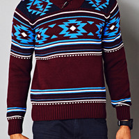 Out West Shawl Collar Sweater