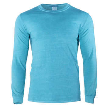 Stephen Women's Vintage Washed Long Sleeve Crew Neck T-Shirt