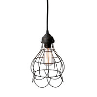 Lazy Susan Wire Rose Pendant Light - 225033