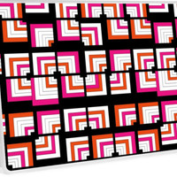 Funky Bright Bold Geometric Pattern by Artification