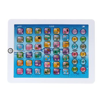 Electronic Tablet Learning Reading Machine Baby English Chinese Learning Machine Kids Early Developmental Toy Gift