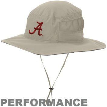 Columbia Alabama Crimson Tide Collegiate Bora Bora Booney II Hat - Khaki