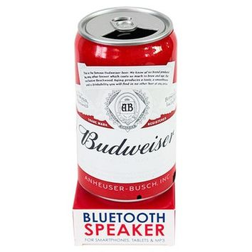 Budweiser Bluetooth Beer Can Speaker