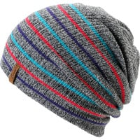 Empyre Girl Juliet Grey Striped Beanie
