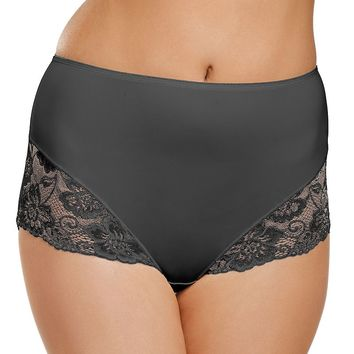 Jockey Slimmers Lace-Trim Brief 4154 - Women's, Size: