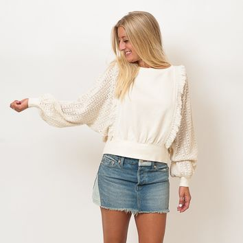 Free People - Faff and Fringe Pullover