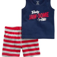 2-Piece Shark Tank & Short Set