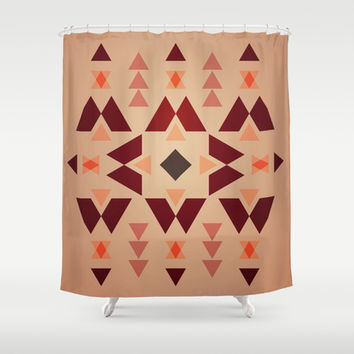 Native Pattern 1 Shower Curtain by HMX23