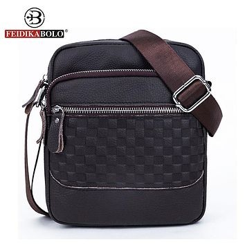 Men Shoulder Bags Messenger Sling Bag Man Satchels Handbags Genuine Leather Bag designer Men Cross body Bags