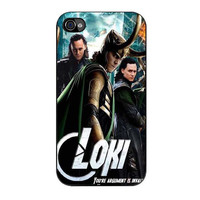 loki the avengers movie iPhone 4 4s 5 5s 5c 6 6s plus cases