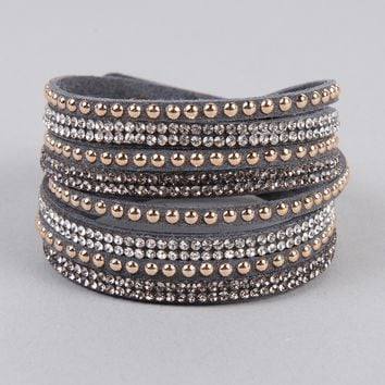 Armitage Avenue Studded Wrap Bracelet