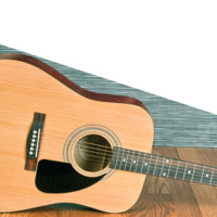FA-100 Acoustic Pack, Dreadnought, Spruce Top, Basswood Back and Sides, Accessories