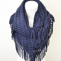 Fairly Fringed Infinity Scarf