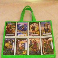 Tarot Tote Duct Tape Carry All for Magic Tools by JuJu