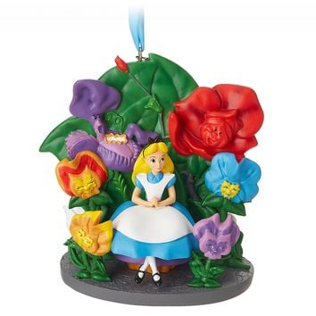 Disney 2018 Alice in Wonderland Sketchbook Christmas Ornament New with Tag