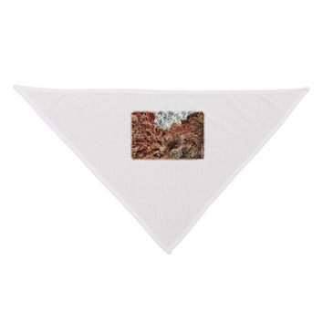 Colorado Painted Rocks Watercolor Dog Bandana 26