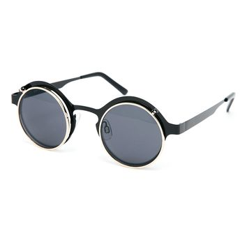 Spitfire Techno 4 Round Flip Up Sunglasses