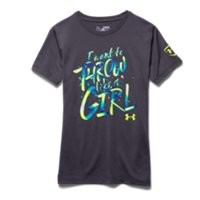 Under Armour Girls' UA Throw Like A Girl T-Shirt