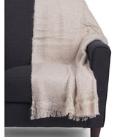Solid Faux Mohair Throw - Blankets & Throws - T.J.Maxx