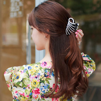 Elegant Peacock Hair Accessories for Women Girls Hairpin Unique Hair Grip Claws Clips