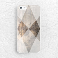 Geometric triangle wood print Phone Case for iPhone 6, Sony z1 z3 compact, LG g2 g3, Samsung s6 edge, HTC one m7 m8 M9, Moto X Moto G -G23