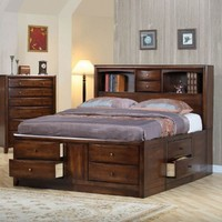 Hillary California King Size Bed