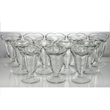 Tulip Sundae Glass Case of 12 Ice Cream Dishes