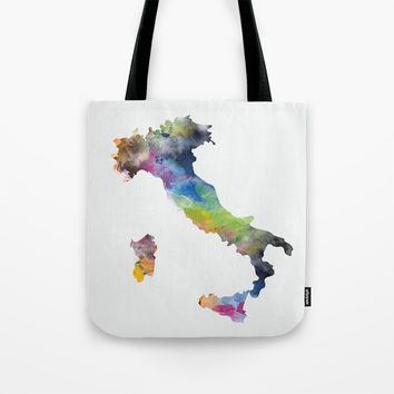 Italy Tote Bag by monnprint