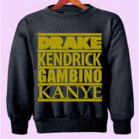 Hip-Hop Rappers Crewneck