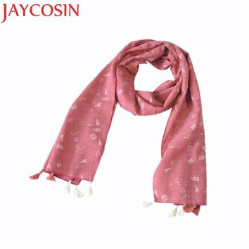 JAYCOSIN Hot High Quality Child Girl Boy Kid Children Winter Spring Autumn Plaid Fringed Soft Cotton Scarf Warm Scarf Shawl
