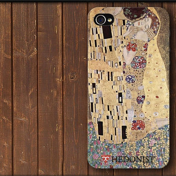 The Kiss - Gustav Klimt Phone Case iPhone Cover