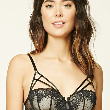 Caged Lace Bra