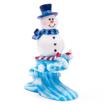 Top Fin® PetHoliday™ Snowman Wave Ornament - Decorations - Fish - PetSmart