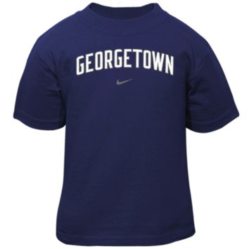 Nike Georgetown Hoyas Youth Classic Arch T-Shirt - Navy Blue- - http://www.shareasale.com/m-pr.cfm?merchantID=7124&userID=1042934&productID=543382906 / Georgetown Hoyas