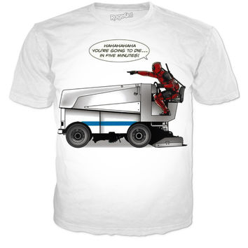 Deadpool On A Zamboni