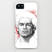 Dexter Morgan Blood Splatters iPhone Case by Olechka | Society6