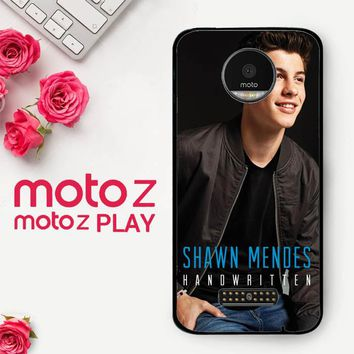 Shawn Mendes Handwritten X3392  Motorola Moto Z Play Case