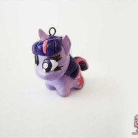 Twilight sparkle Chibi charm MLP by ThekawaiiOD on Etsy