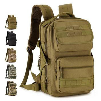 ICIK7N3 Protector Puls Hot 25L Military Tactical Backpack Rucksacks Men Camouflage Outdoor Sports Bag Camping Hiking Bags 2017 D001