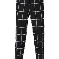 Msgm Checked Trousers - Gente Roma - Farfetch.com
