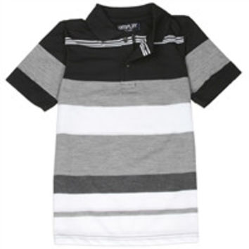Boys 4-7 Stripe Polo Shirt-kep34-a