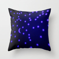Lullaby Throw Pillow by Marianna Tankelevich