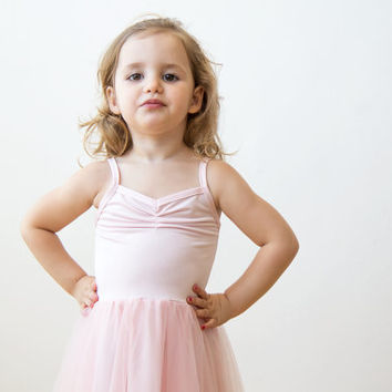 Blush pink princess dress, Ballerina tulle maxi dress, Toddlers tulle pink dress