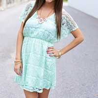 Anything For You Dress, Mint