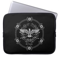 SPQR The Roman Empire Emblem Laptop Sleeve. Laptop Sleeve
