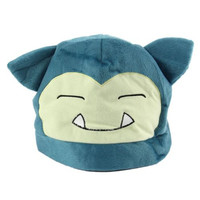 Cosplay Anime Pocket Monster Pokemon Snorlax Cap Soft Plush Hat Toy Doll Gift