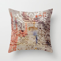 Lotuz Package Throw Pillow by ChiTreeSign
