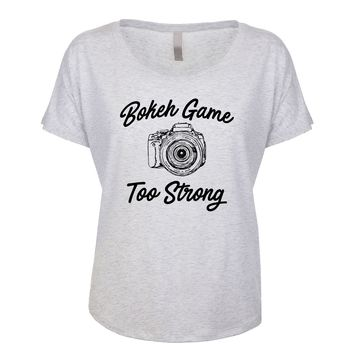 Bokeh Game Too Strong Women's Dolman
