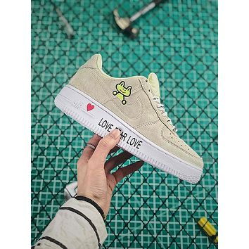 Frog Skateboard x Nike Air Force 1 AF1 Low Fashion Shoes