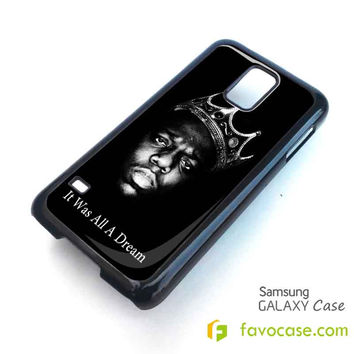 BIGGIE SMALLS NOTORIOUS BIG HIP HOP RAP Samsung Galaxy S2 S3 S4 S5, Mini, Note, Tab Case Cover